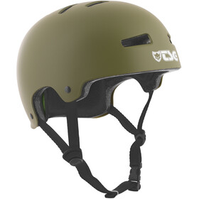 TSG Evolution Solid Color casco per bici verde oliva